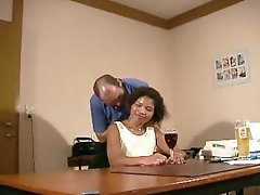 Mature german babe gets banged as part of a job interview