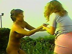Vicious Two On One MILF Catfight Battle