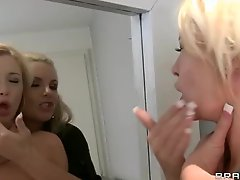 Jealous Phoenix Marie punishes big titted beauty Summer Brielle
