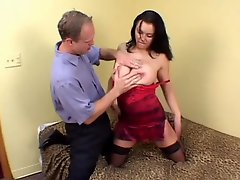 Brunette Makes Boobs Bounce - CRITICAL X