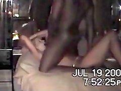 Real white cuckold couple