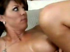 Lovely hawt slut Kayla Synz getting jizzed on her Lovely face