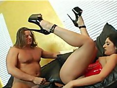 A Latin Babe Impaled On A Hard Dick