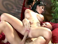 Vicious Brunette Slut Rebeca Linares Gets Fucked By a Horny Sailor