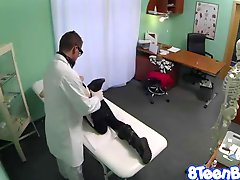 Teen Fucked as she entered the doctors office