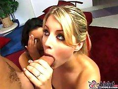 Madeline Marks and Lacie Heart share dongs