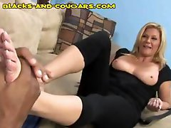 Busty MILF Ginger Lynn is an old time porn star still getting it