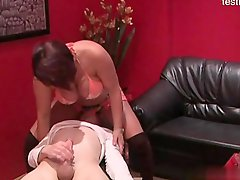 Horny wife   creampie swap