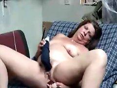 Super stolen video of my mum having fun on web cam