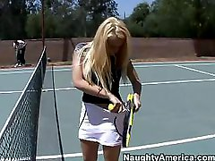 Playing Tennis And Playing Penis Are Synonims For Kagney Linn Karter