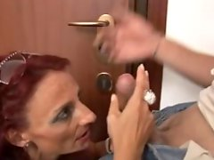 Italian Mature Gets Straight And Anal