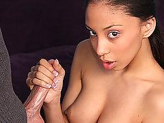 Latina Alexis Gives A Hot Hand Job