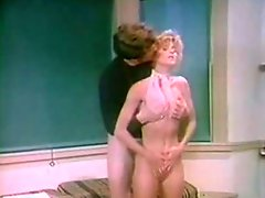 Ginger Lynn in Coaches office