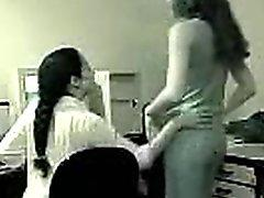 Desi school lesbian girls in a hot spy cam