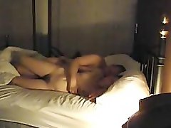 Wife cheating at hotel with husband friend