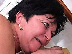 Granny Lusts After Big Black Dick