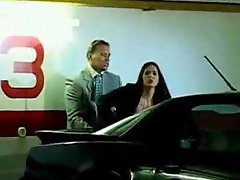 He surprises her in the parking lot and fucks her