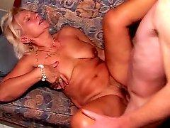 Hot blonde Mature