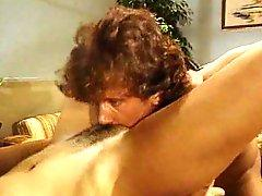 Christy Canyon does a passionate sex scene