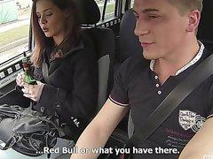 Czech Taxi got a sexy girl fucked
