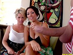 Brooke Haven And Dylan Ryder Share A Lucky Guys Big Cock