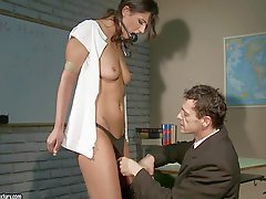Diana Stewart gets her holes fingered