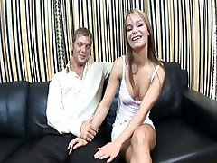 Real amatuer couple strips naked and fucks each other on cam