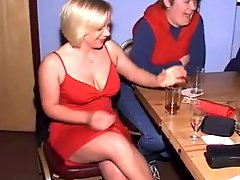 British Women at CFNM Stripper Party-Part1