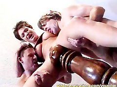 Threesome crazy toy sex