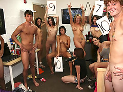 College Girls Decide Who has the Best Dick then Fuck Him