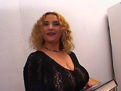 Latin Beauty With Big Tits Pleasures Two Guys At Once