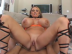 Her Big Tits Bounce As She Gets Fucked