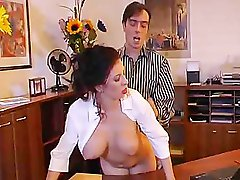 Very hot secretary