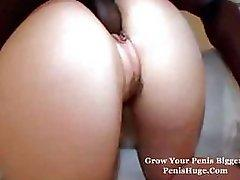 A nice looking ass is begging for that big black cock to fuck her