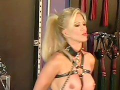 Cock-Bursting Bondage Threesome Featuring Nina Hartley and Amber Lynn