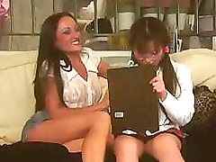 The hot babysitter gets seduced