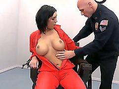 Dylan Ryder is on death row and her last dream is to suck officer Johnny Sins dick