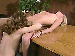 Christy Canyon and Gail Force in 3some