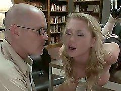 Madison Scott dresses slutty to get her teachers attention which leads to a taboo encounter of domination, sex and bondage.  Includes spanking, squirting, suspension bondage.
