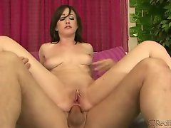 Jennifer White on top in anal video