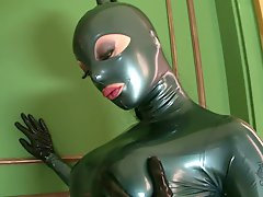 Well stacked Latex Lucy poses i