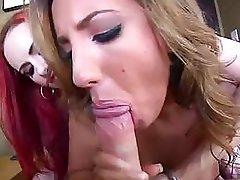 Mz Berlin and Kelly Devine Tit Fuck