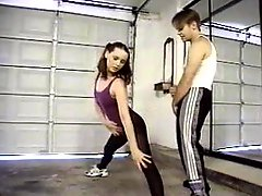 Dance instructor fucks his cute student