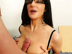 Asian Diana Prince having hardcore fun with hot fuck buddy Danny Wylde