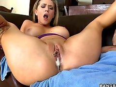 Big cum load in Kagney Linn Karter