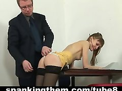 The punishment for skinny secretary