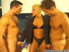 Rocco Gets His Rod Into A Few Different Babes