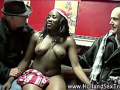 Real dutch hooker blowjob fuck