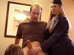 Breasty Kelly Madison and Michelle b sharing a big hard boner