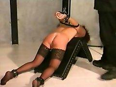 Slave girl gets some much needed training from her master